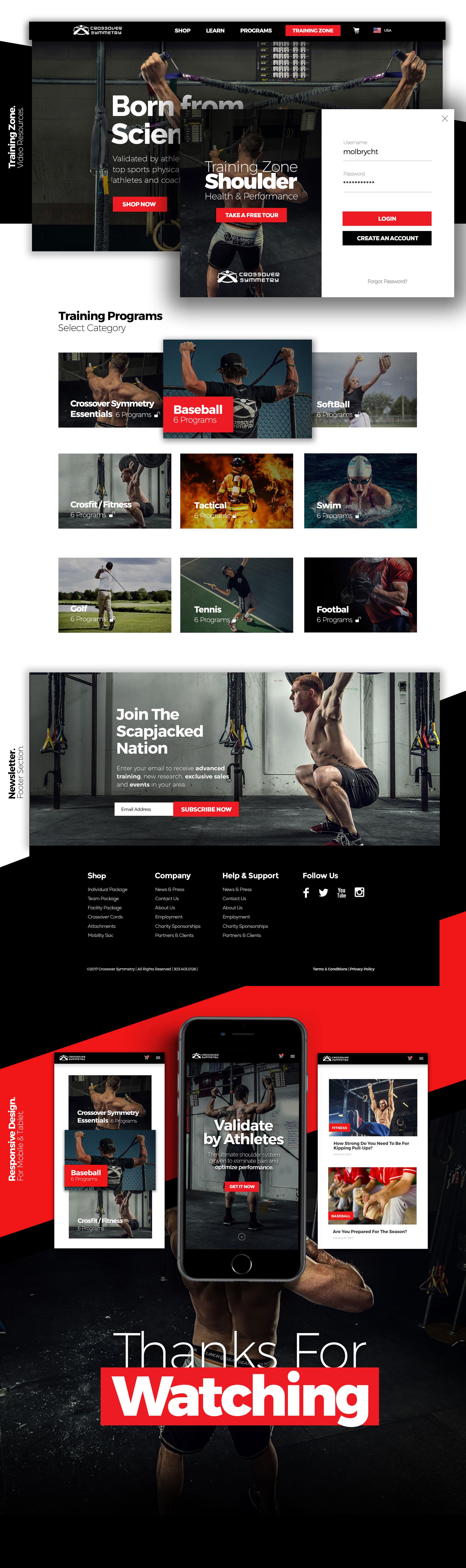 Best Fitness, Sport Web Design by Maciej Olbrycht